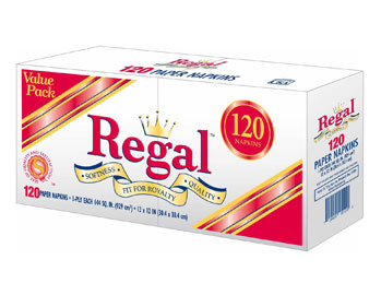 Regal - Lunch Napkin (Pillow) 120ct