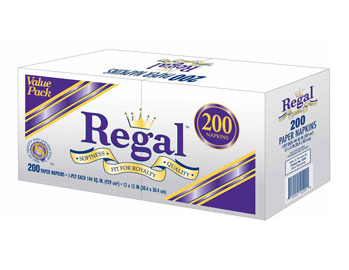 Regal - Lunch Napkin (Pillow) 200ct